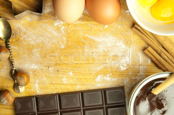 Baking background with space  Stock photo © unikpix