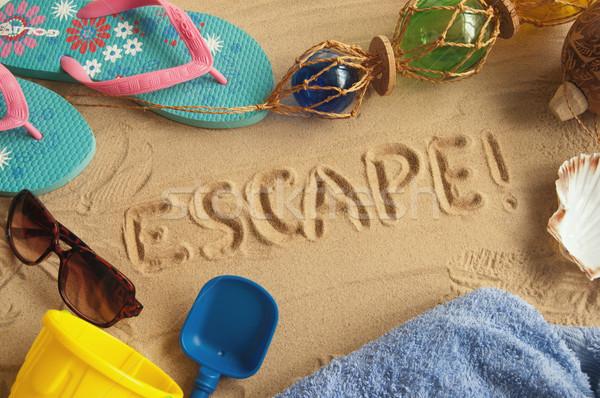 Vacation escape  Stock photo © unikpix