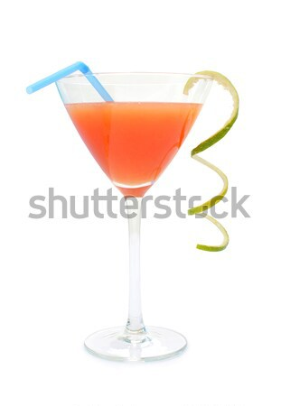 синий коктейль подвесной край Сток-фото © unikpix