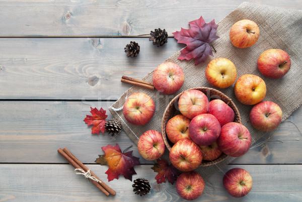 Jesienią jabłka jabłko owoców Zdjęcia stock © unikpix