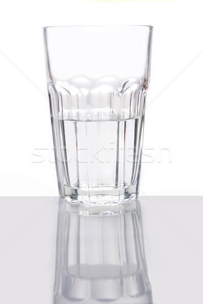Glass half full Stock photo © unikpix