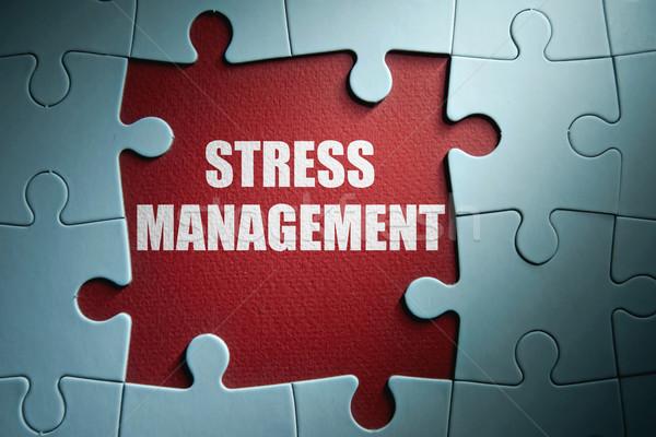 Stress management Stock photo © unikpix