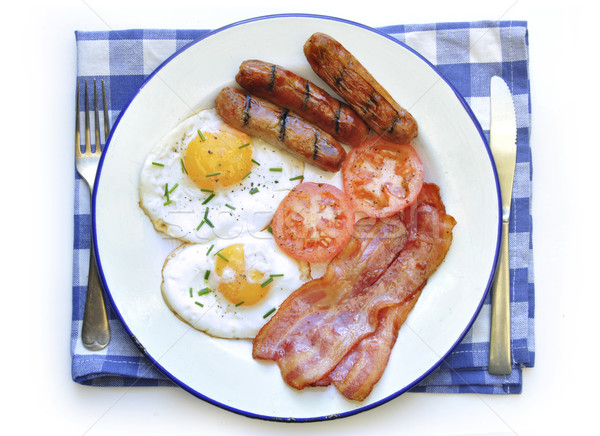 Fried breakfast  Stock photo © unikpix