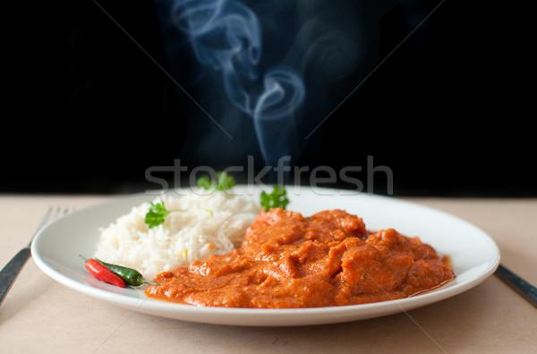 Hot curry Stock photo © unikpix