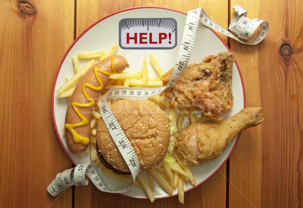 Junk food diet concept  Stock photo © unikpix