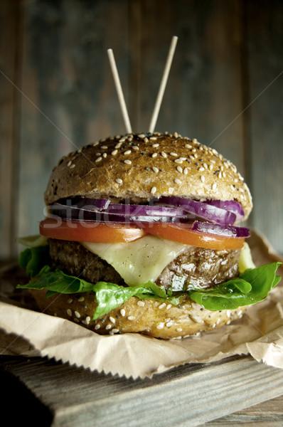 Burger  Stock photo © unikpix