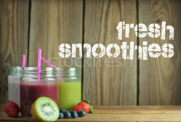 Fresh smoothies Stock photo © unikpix