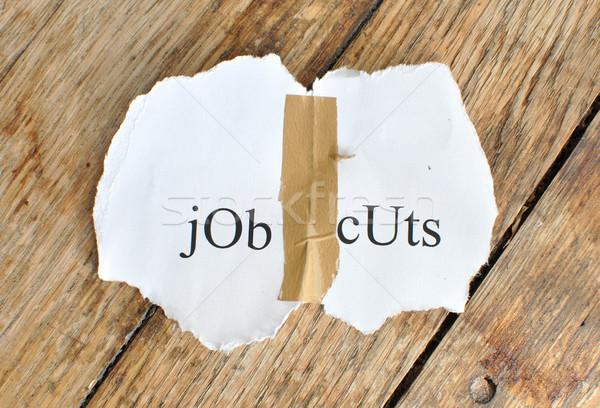 Job cuts Stock photo © unikpix