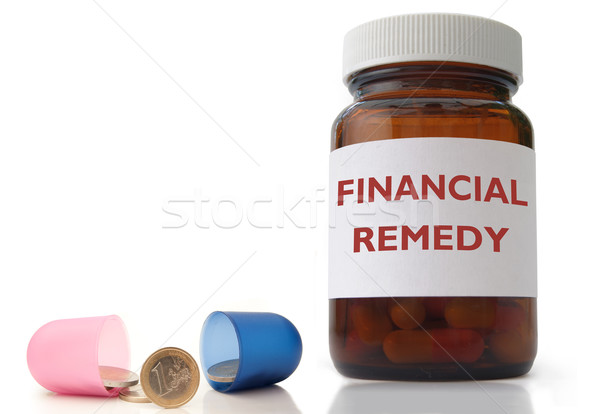 Financial remedy Stock photo © unikpix