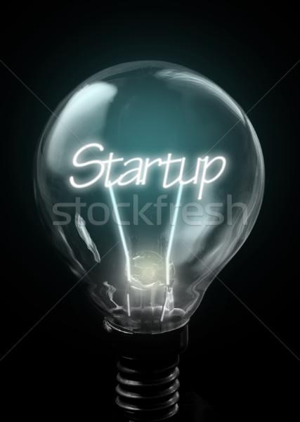 Avvio up business luce Foto d'archivio © unikpix