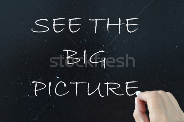 See the big picture  Stock photo © unikpix