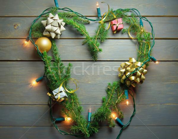 Christmas love heart  Stock photo © unikpix