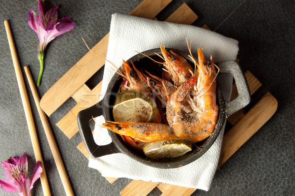 King prawns Stock photo © unikpix