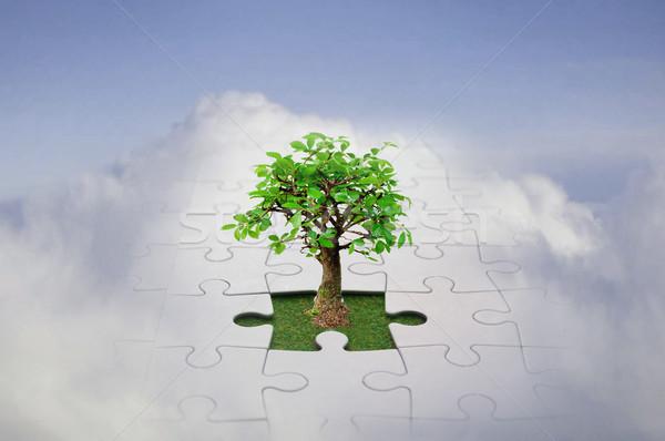 Jigsaw sky  Stock photo © unikpix