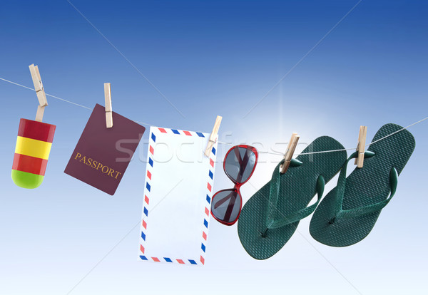 Travel vacation concept  Stock photo © unikpix