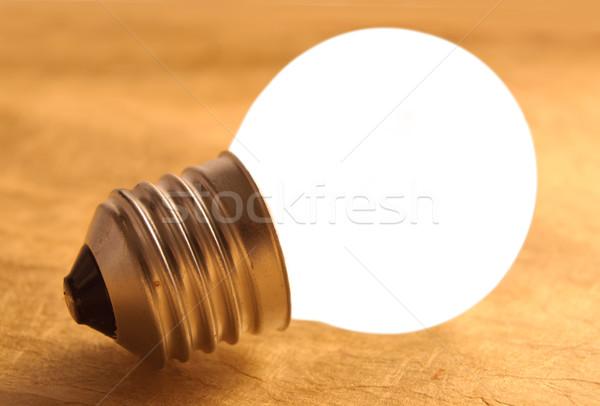 Bright bulb, inspiration, ideas Stock photo © unikpix