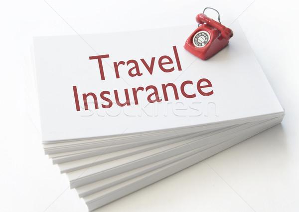 Travel insurance  Stock photo © unikpix