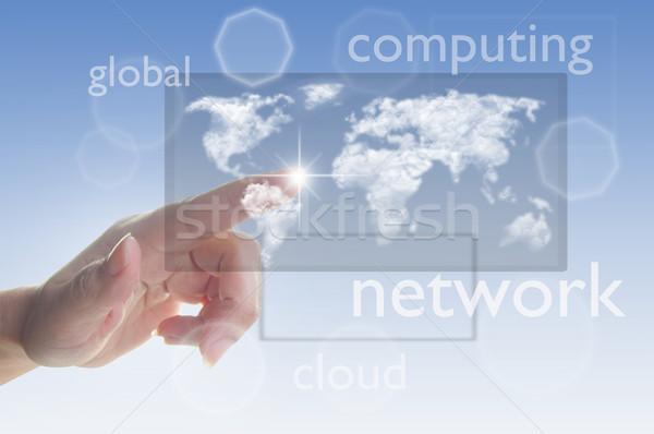 Cloud computing concept  Stock photo © unikpix