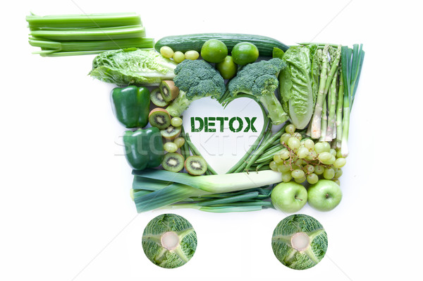 Detox groceries  Stock photo © unikpix