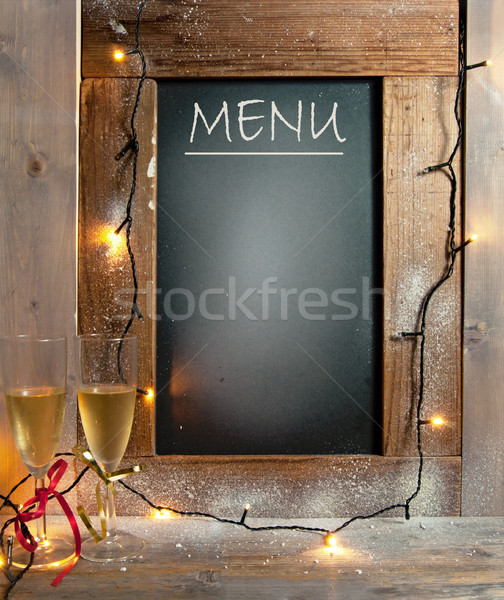 Party menu Stock photo © unikpix