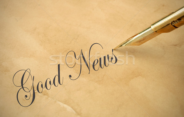Good news Stock photo © unikpix