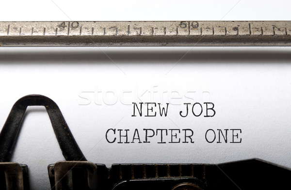 New job Stock photo © unikpix