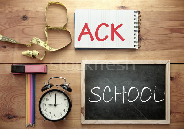 Back to school background Stock photo © unikpix