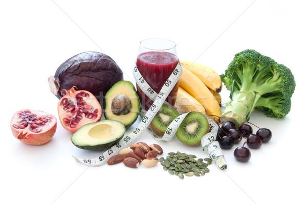 Dieta alto frutas hortalizas zalamero Foto stock © unikpix