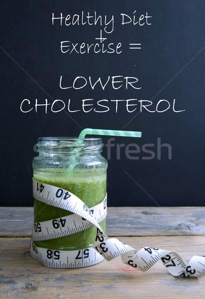 Lower cholesterol solution Stock photo © unikpix
