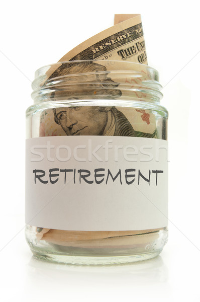 Retirement fund Stock photo © unikpix
