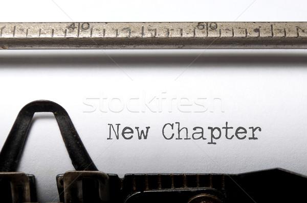 New chapter  Stock photo © unikpix