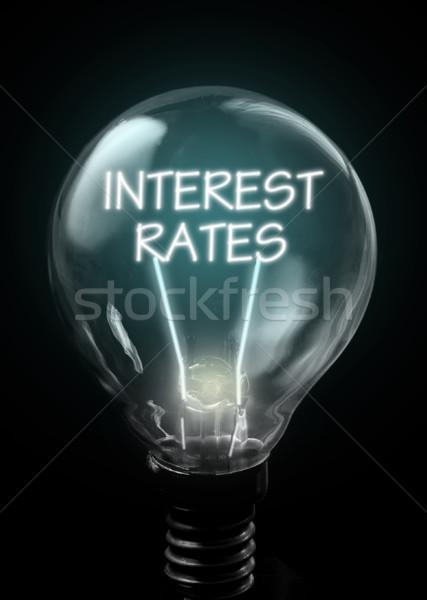 Interest rates  Stock photo © unikpix