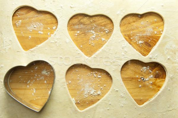 Valentine baking background Stock photo © unikpix
