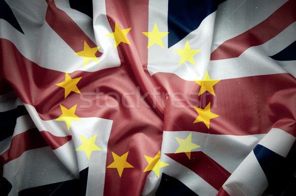 UK flag Brexit concept  Stock photo © unikpix