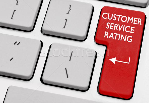 Customer service rating Stock photo © unikpix
