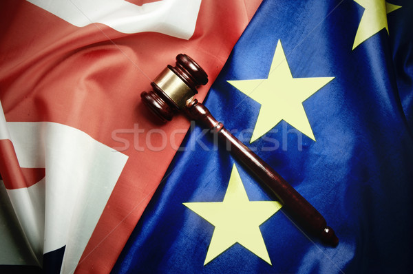 Brexit UK european legal trade negotiations concept  Stock photo © unikpix