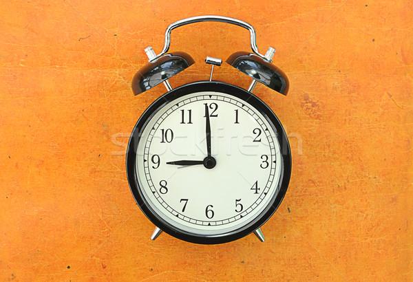 часы старые Vintage будильник лице Сток-фото © unikpix