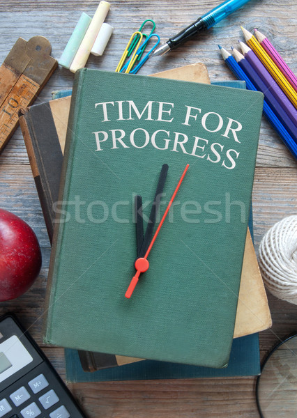 Time for progress education concept  Stock photo © unikpix