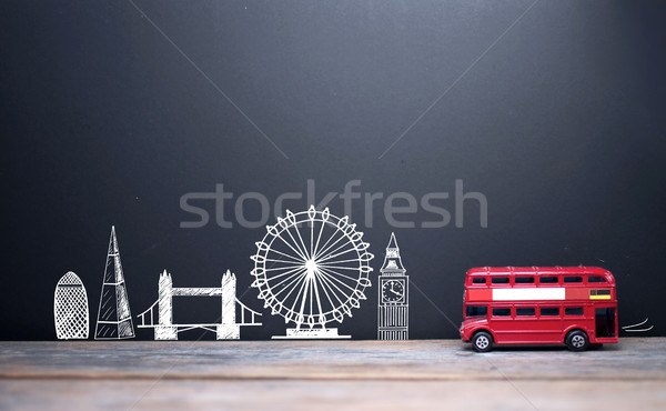 London skyline landmarks  Stock photo © unikpix