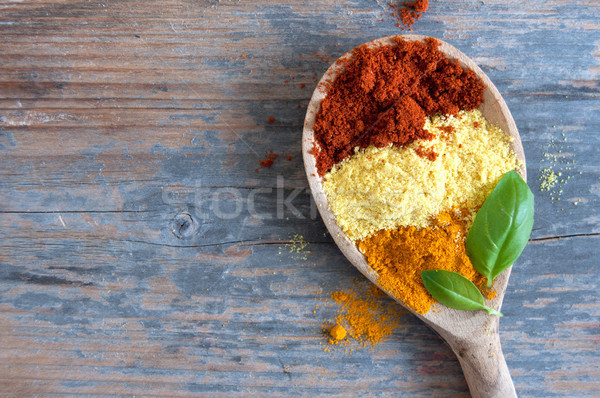 Herb and spices mix Stock photo © unikpix