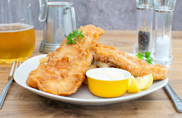 Fish and chips Stock photo © unikpix