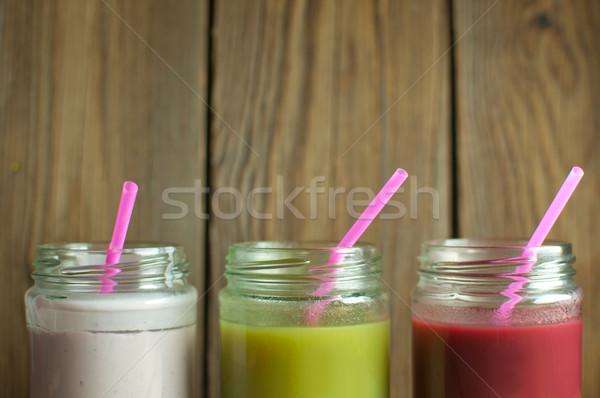Fresh smoothies Stock photo © unikpix