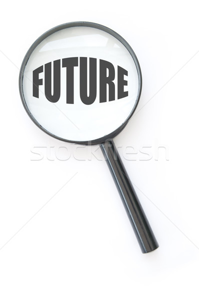 Stock photo: Focus on the future