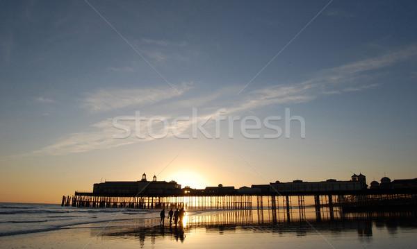 Beach pier Stock photo © unikpix
