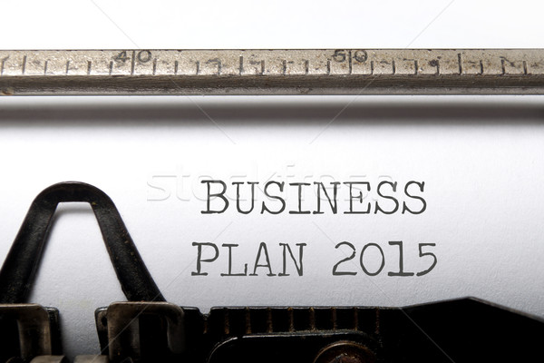 Business plan 2015 Stock photo © unikpix