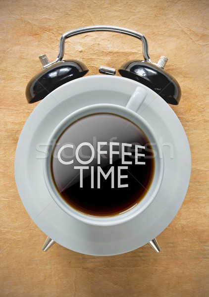 Coffee time break concept  Stock photo © unikpix