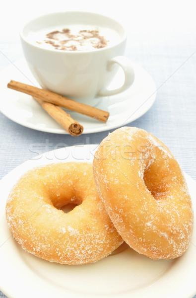 Donuts and coffee Stock photo © unikpix
