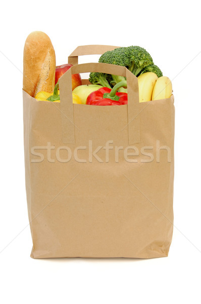 Bag of groceries Stock photo © unikpix