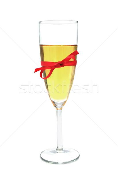 шампанского стекла лук красный пузырьки Сток-фото © unikpix