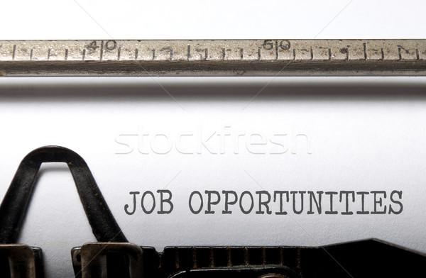 Job opportunities Stock photo © unikpix